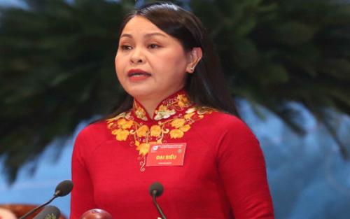 Đồng chí, Nguyễn Thị Thu Hà, tái đắc cử, Chủ tịch Hội LHPNVN