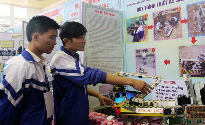 dự án, đoạt giải, quốc gia, thi sáng tạo, khoa học,  kỹ thuật