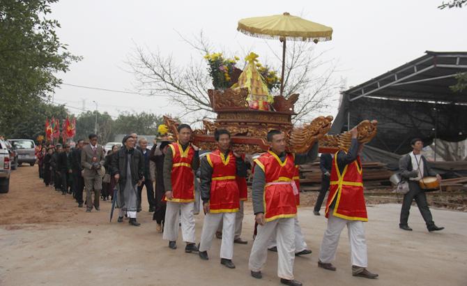 khai hội, chùa Vĩnh Nghiêm, Yên Dũng