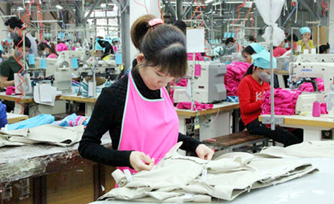 Bac Giang adds 9 places attracting garment projects to plan