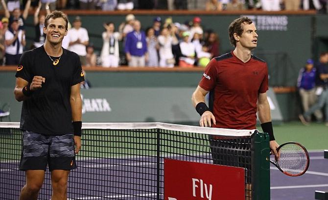 Choáng váng, Tay vợt, hạng 129, 'hạ gục', số 1, thế giới, Andy Murray, trận đầu