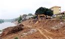 Gần 15 tỷ đồng xử lý sạt lở bờ sông Lục Nam