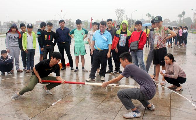 Hơn 70 VĐV,  tham gia, giải vô địch, đẩy gậy,  TP Bắc Giang