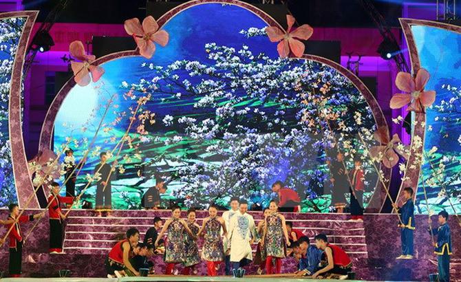 """Điện Biên, tưng bừng, khai mạc, """"Lễ hội Hoa Ban"""", 2017"""