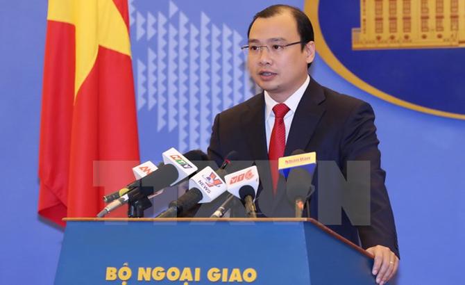 Việt Nam, kiên quyết, phản đối, hành động, Trung Quốc, Hoàng Sa