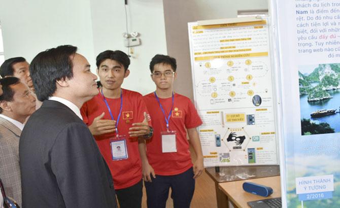 Bộ trưởng Phùng Xuân Nhạ, khuyến khích, học sinh, nghiên cứu, khoa học, cuộc sống