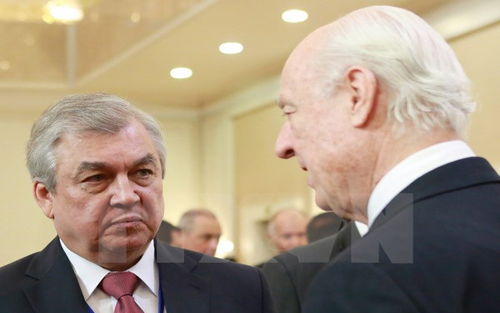 Khai mạc, hòa đàm, vòng 3, giải quyết, khủng hoảng, Syria, Astana