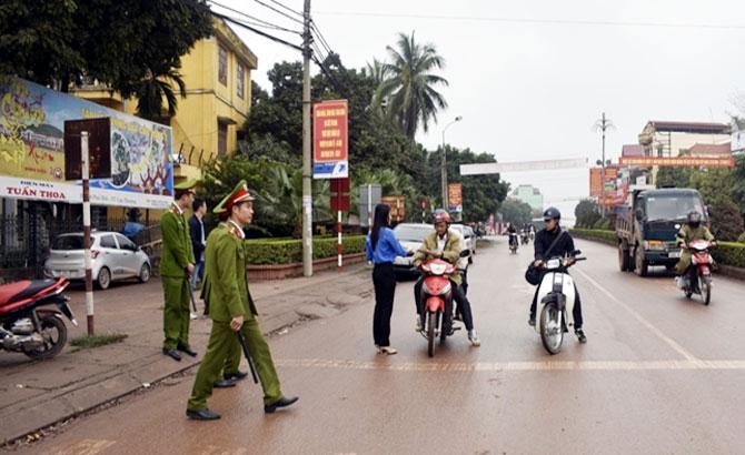 Tân Yên, Phát 4 nghìn,  tờ rơi,  tuyên truyền, an toàn,  giao thông