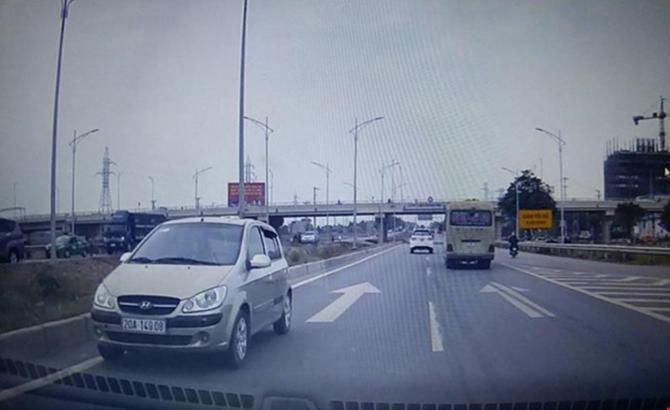 Xử lý, lái xe, ngược chiều, cao tốc, Hà Nội-Bắc Giang