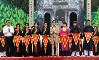Liên hoan hát quan họ: Thôn Núi Hiểu, xã Quang Châu giành giải đặc biệt