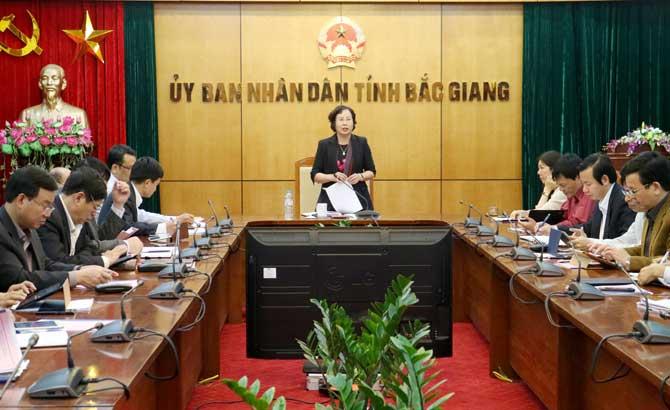 Tăng cường, công tác, ứng dụng, công nghệ thông tin, địa bàn, tỉnh Bắc Giang