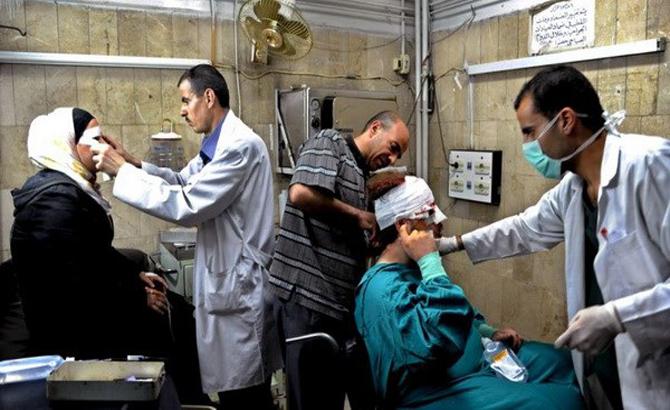 Nhân viên, y tế, thiệt mạng, cuộc chiến, Syria
