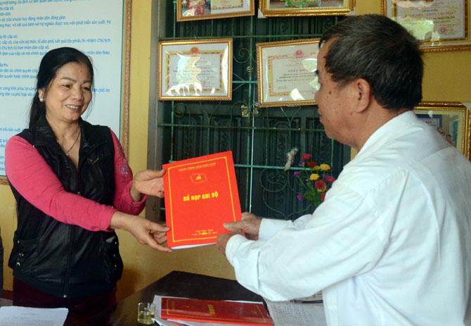 Tân Yên, trang bị, sổ họp, đảng viên,  khu vực, nông thôn