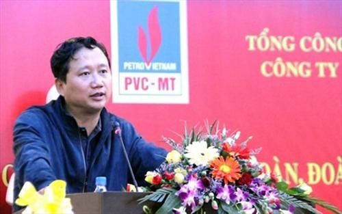 Trịnh Xuân Thanh, khởi tố, tội, tham ô tài sản
