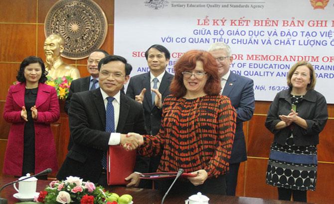 Australia, hỗ trợ, Việt Nam, chất lượng, giáo dục, trực tuyến