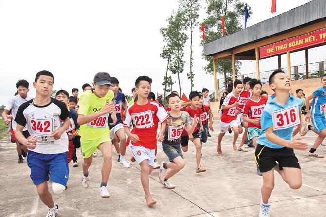 Khai mạc,  Giải Việt dã, truyền thống, Báo Bắc Giang, lần thứ 36