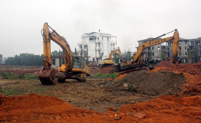 TP Bắc Giang: Cưỡng chế thu hồi đất thực hiện dự án Khu đô thị Bách Việt Lake Garden
