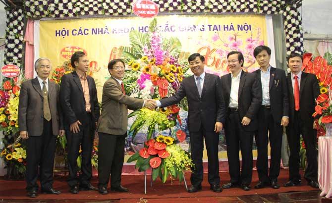 Hội các nhà khoa học, Bắc Giang,Hà Nội, đóng góp, trí tuệ, quảng bá, hình ảnh, quê hương
