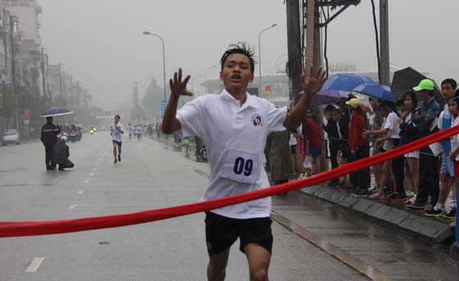 Giải Việt dã, Báo Bắc Giang, lần thứ 36, năm 2017, Tân Yên, lần đầu tiên, đoạt cúp vô địch