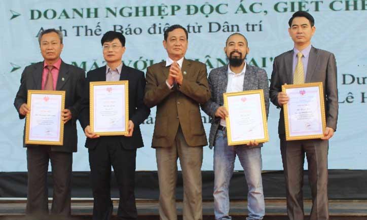 giải toàn quốc, phóng sự, xuất sắc, môi trường, Báo Bắc Giang, đoạt giải C