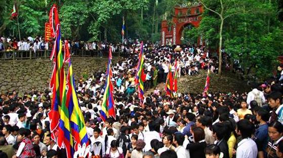 Địa phương, tham gia, tổ chức, Lễ hội Đền Hùng