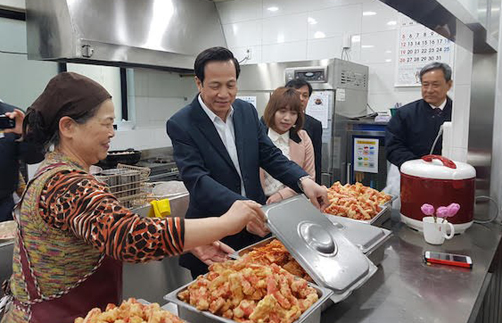Lao động, Việt Nam,  Hàn Quốc, mức lương, 55 triệu đồng