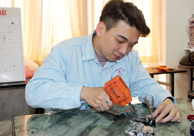 Sinh viên, Nguyễn Đức Anh, nhiều ý tưởng, sáng tạo