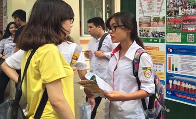 80.000 học sinh, Hà Nội, thi thử, THPT, quốc gia