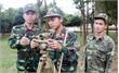 Thượng úy Bùi Quốc Hoàn: Chỉ huy giỏi, nêu gương trong huấn luyện