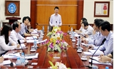 Phó Chủ tịch UBND tỉnh Lê Ánh Dương: Phấn đấu đến hết năm 2017, 88-90% dân số tham gia BHYT