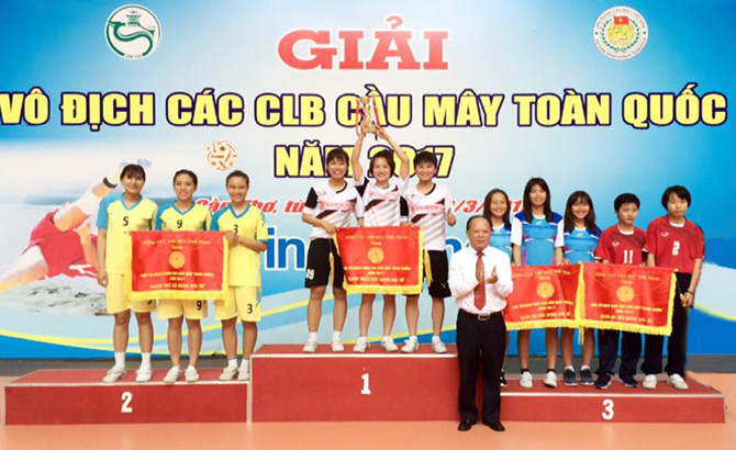 Bac Giang ranks second at national Sepak Takraw championship