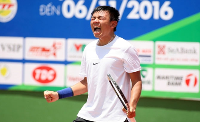 Vietnam's tennis star makes Japan F3 Futures semifinals
