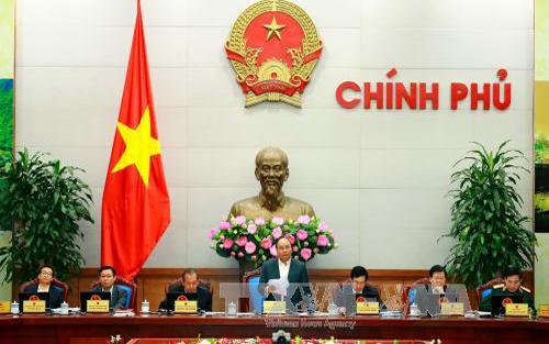Thủ tướng: Hạn chế cử người họp thay tại phiên họp Chính phủ thường kỳ hằng tháng