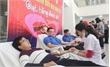 """Tiếp nhận gần 150 đơn vị máu tại ngày hội """"Giọt hồng đoàn viên"""""""