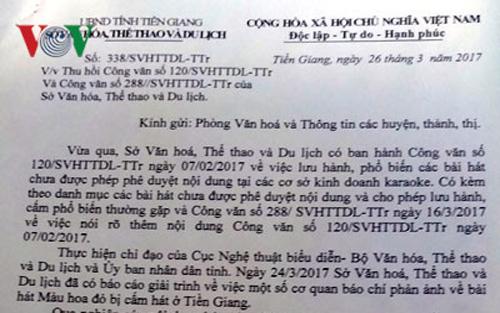 Sở Văn hóa, Thể thao và Du lịch Tiền Giang sẽ có văn bản xin lỗi gia đình cố nhạc sĩ Thuận Yến