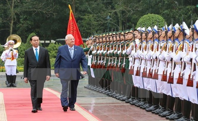Israeli President concludes State visit to Vietnam
