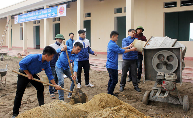 Bac Giang's youth contribute to homeland's development