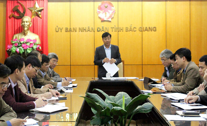 Bac Giang strengthens management of land, construction and environment in IPs