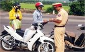 Mở đợt cao điểm xử lý xe gắn máy, mô tô vi phạm trật tự giao thông