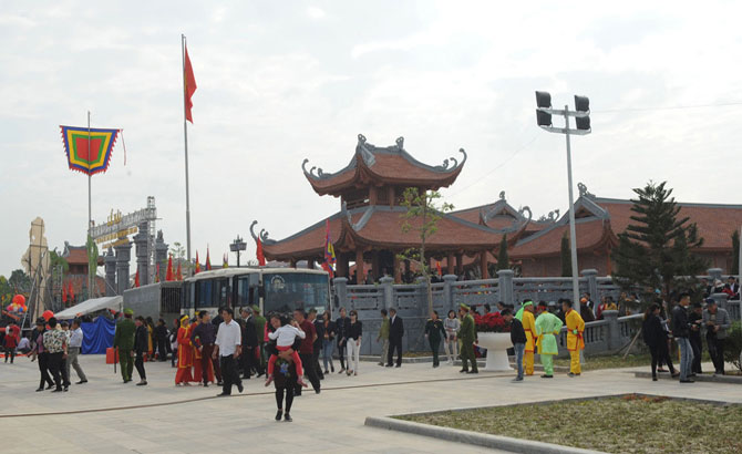 Xuong Giang victory relic site attracts foreigners