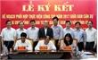 Ban cán sự Đảng UBND tỉnh - Ban Tuyên giáo - Ban Dân vận Tỉnh ủy ký kết kế hoạch phối hợp công tác