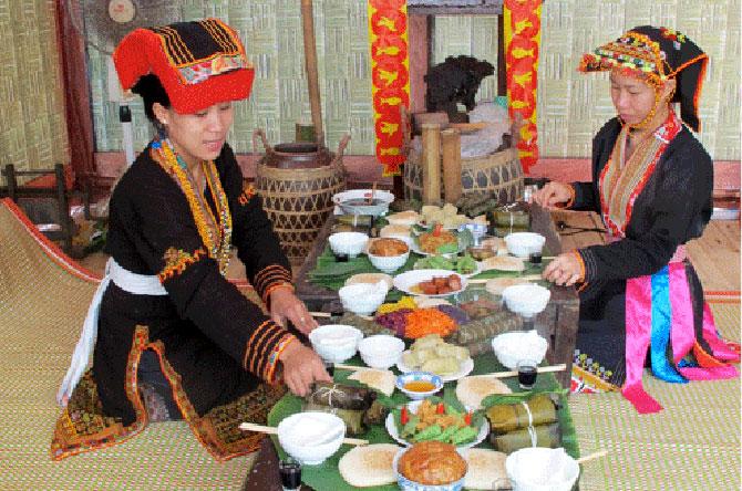 Ẩm thực, níu chân, du khách, Bắc Giang, phong cảnh