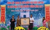 Đón nhận Bằng xếp hạng di tích Quốc gia chùa Am Vãi