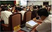 Lãnh đạo TP Hà Nội điều hành công việc qua iPad
