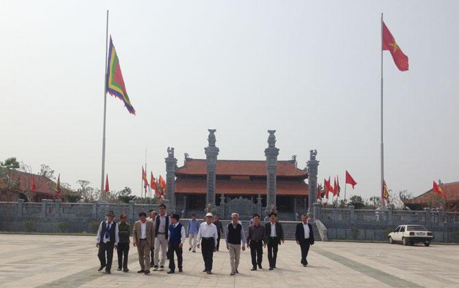 Kiến trúc nghệ thuật đặc sắc của đền Xương Giang