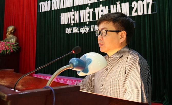 Việt Yên, tổ chức, Hội nghị, trao đổi, kinh nghiệm, hoạt động, HĐND