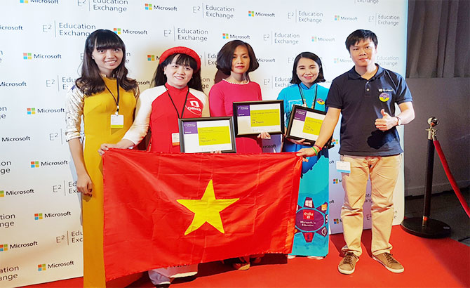 Giáo viên, Việt Nam, tự tin, đổi mới, công nghệ