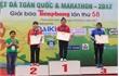 Đội tuyển các môn thể thao tỉnh Bắc Giang đoạt 65 huy chương trong quý 1-2017