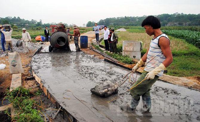 Góp hơn 8 tỷ đồng xây dựng nông thôn mới