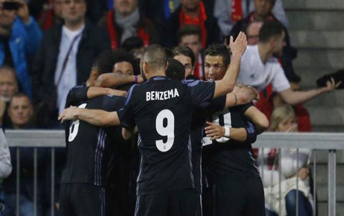 Real Madrid, vươn lên, trở thành, ứng cử viên, số 1, Champions League